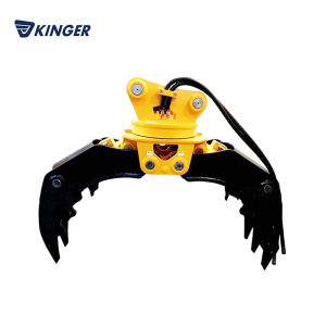 Discountable price Skid Steer Concrete Mixer - Rock grapple – Dongheng Machinery