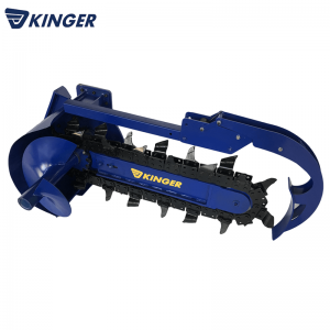 Cheap PriceList for Hydrualic Earth Drill - Chain trencher – Dongheng Machinery
