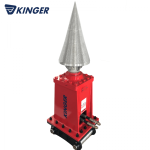 100% Original Hydraulic Hedge Cutter Trimmer For Excavator - Log splitter – Dongheng Machinery