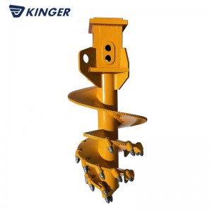 OEM/ODM Supplier Excavator Earth Auger Drill - Conical rock auger – Dongheng Machinery