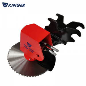 8 Year Exporter Wood Log Cutter Splitter - Saw head – Dongheng Machinery