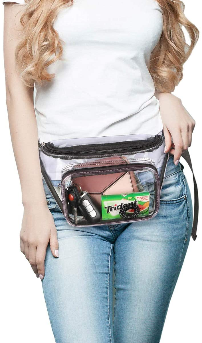 China High Quality Mesh Book Bags Factories –  Fanny Pack Clear Waist Bag – Kinghow