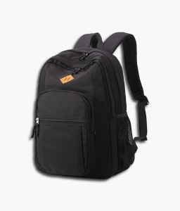 Black Unisex Cool Travel Laptop Waterproof School Backpack