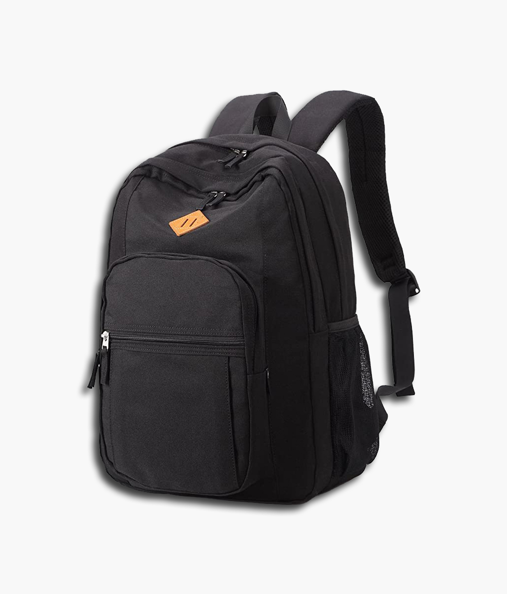 China Wholesale Equipment Bags Exporters –  Black Unisex Cool Travel Laptop Waterproof School Backpack – Kinghow