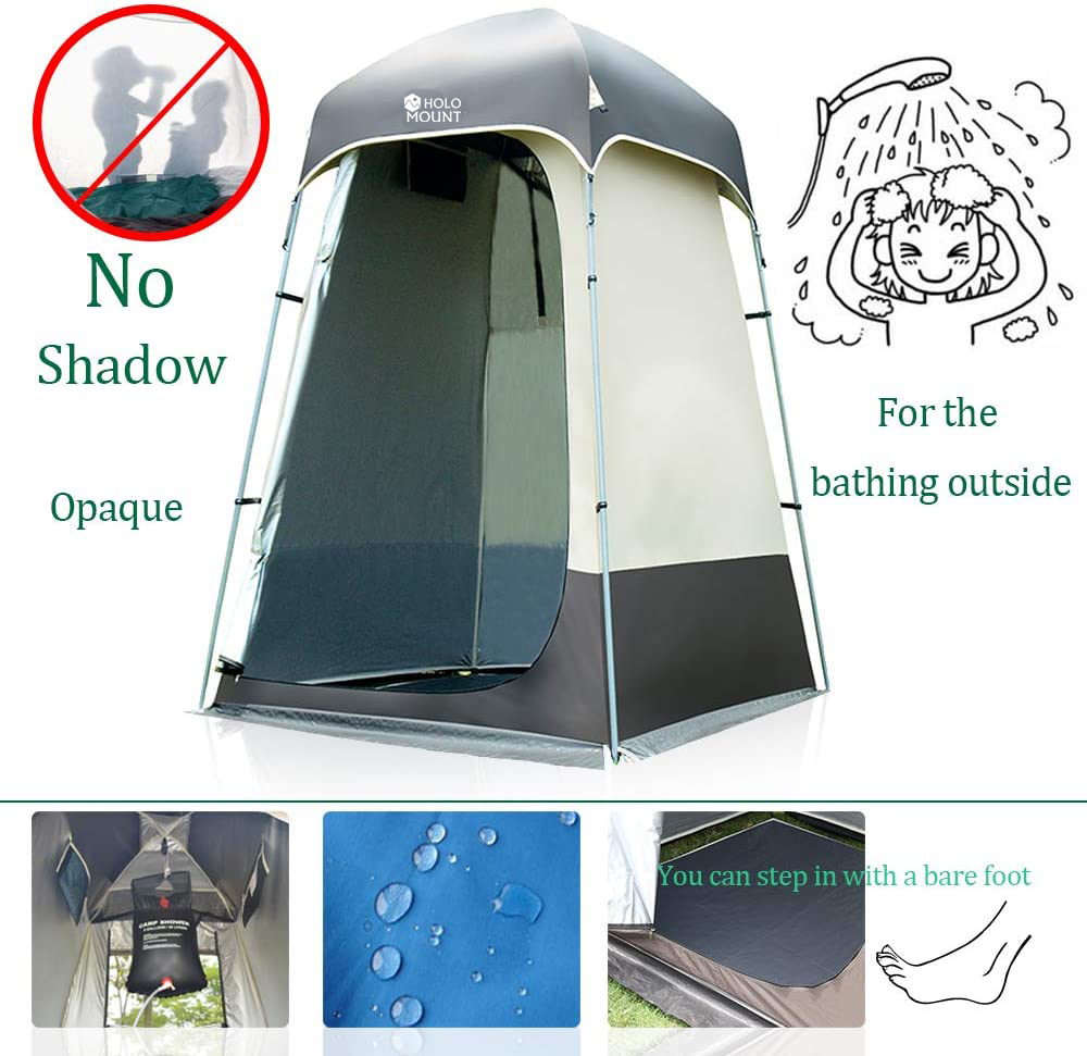 OEM Custom Waist Belt Suppliers –  Aluminium Pole Privacy Waterproof Shower Tent Camping Changing Room Toilet Shelter – Kinghow