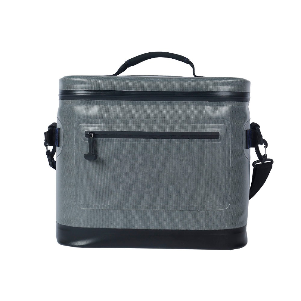 Custom Logo Sealed Insulated Cooler Bag Airtought Zip Closure for Outdoor Adventures