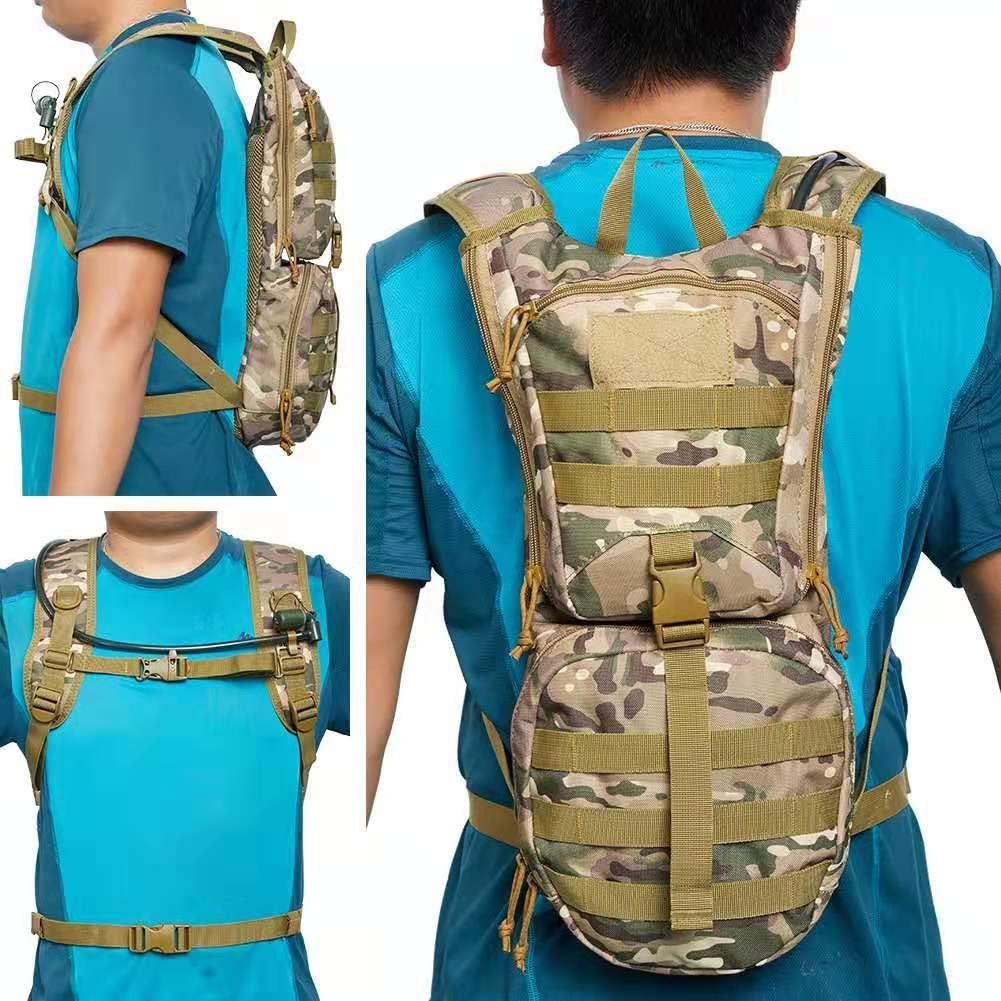 China Wholesale Canvas Tote Bags Manufacturers –  Tactical Hydration Pack with TPU Water Bladder – Kinghow