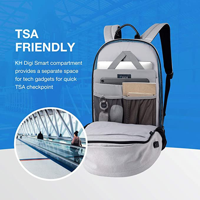China Wholesale Designer Fanny Pack Factories –  Travel Backpack with USB Charging Port – Kinghow