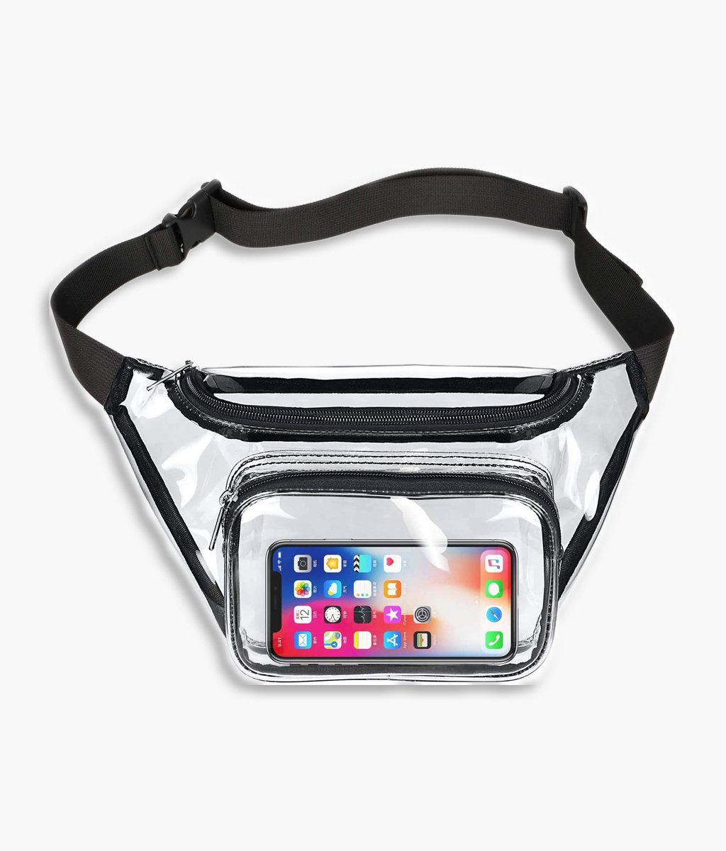 China High Quality Mesh Book Bags Factories –  Fanny Pack Clear Waist Bag – Kinghow Featured Image