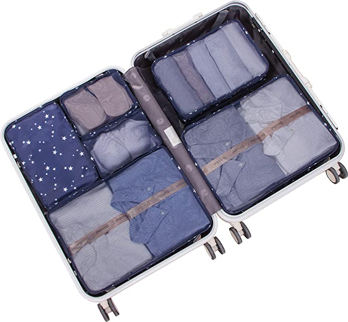 OEM Custom Fabric Containers Exporters –  Travel Packing Cubes Luggage Organizers – Kinghow detail pictures