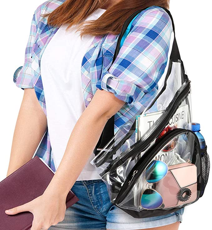 China Wholesale Drawstring Backpack Suppliers –  Fashion Clear Sling Bag Backpack – Kinghow
