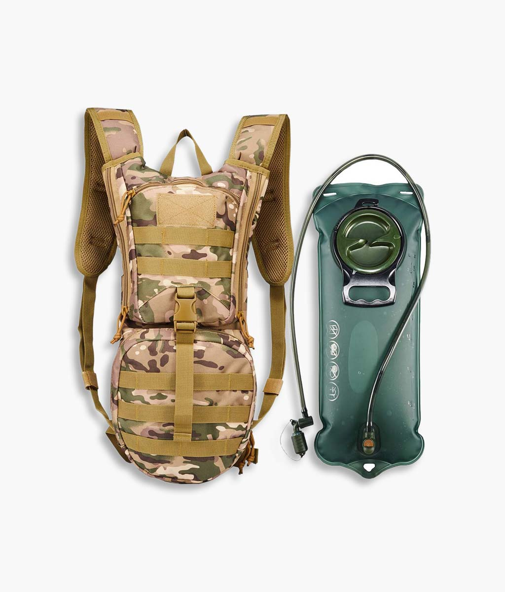 China Wholesale Canvas Tote Bags Manufacturers –  Tactical Hydration Pack with TPU Water Bladder – Kinghow Featured Image