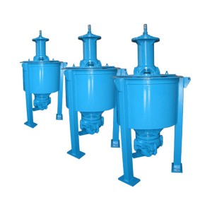 China Gold Supplier for Rubber Pump - VFD Vertical Froth Pump (Repalce AF) – damei kingmech pump