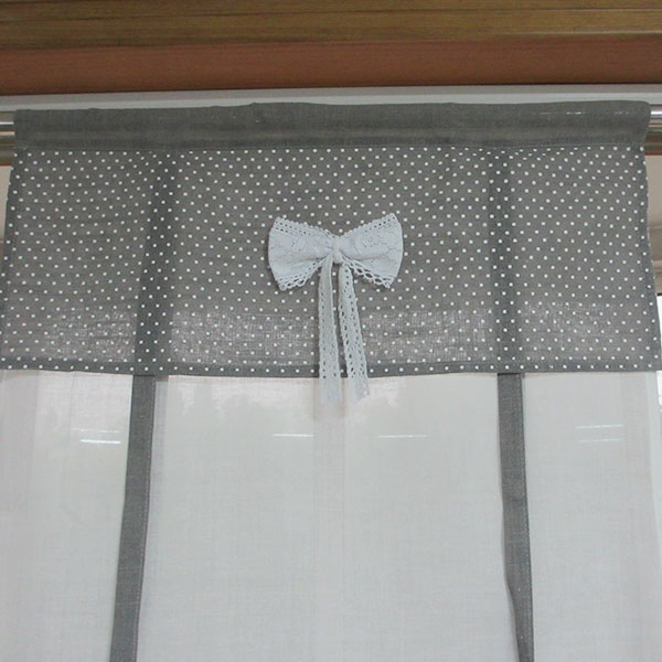 The rectangle has a trailing embroidery curtain.Curtain WHL1707-1 Featured Image