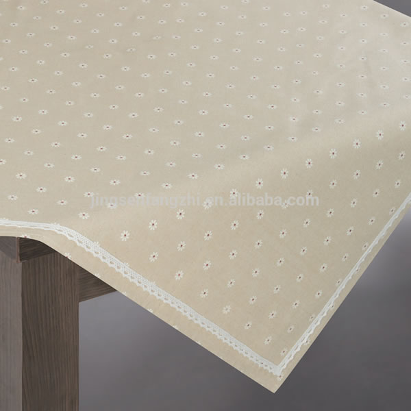 Square Imported Tablecloths With Lace
