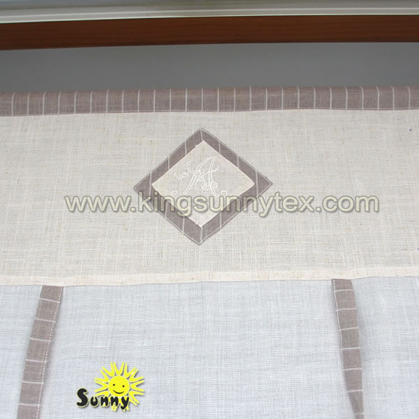 Royal Italian Curtains With Simple Printing Design For Living Room And Kitchen