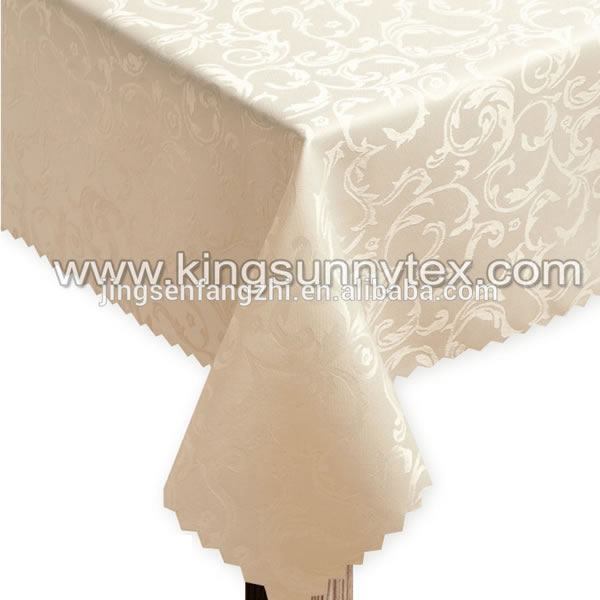 Rectangular Jacquard Tablecloth For Sale