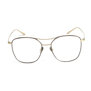 100% Titanium High Quality Eyeglass Frame with Double Color Fashion Women Men#89046