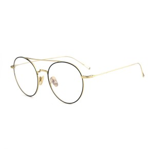 100% Titanium High Quality Full Rim Fashion Titanium Spectacle Glasses #89155