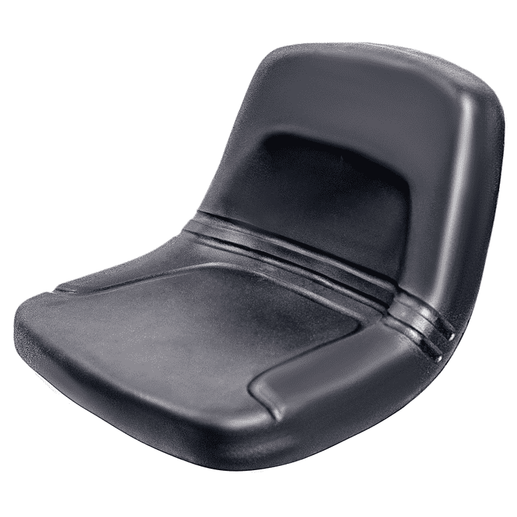 YY19 Low back farm lawn mower seat