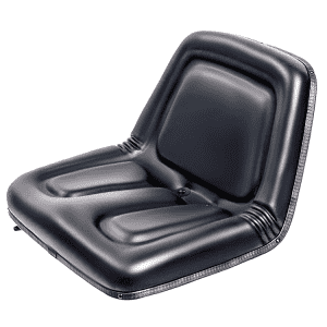 Quality Inspection for Fego Air Suspension Seat - YY05 High Back Lawn and Garden Tractor Seat Black Polyurethane – Qinglin Seat