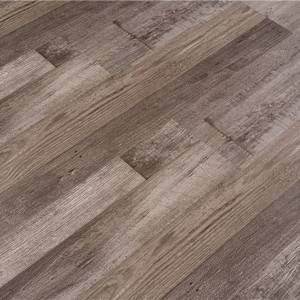 Flexible easy instal wood grain unilin click retro vinyl flooring for sale