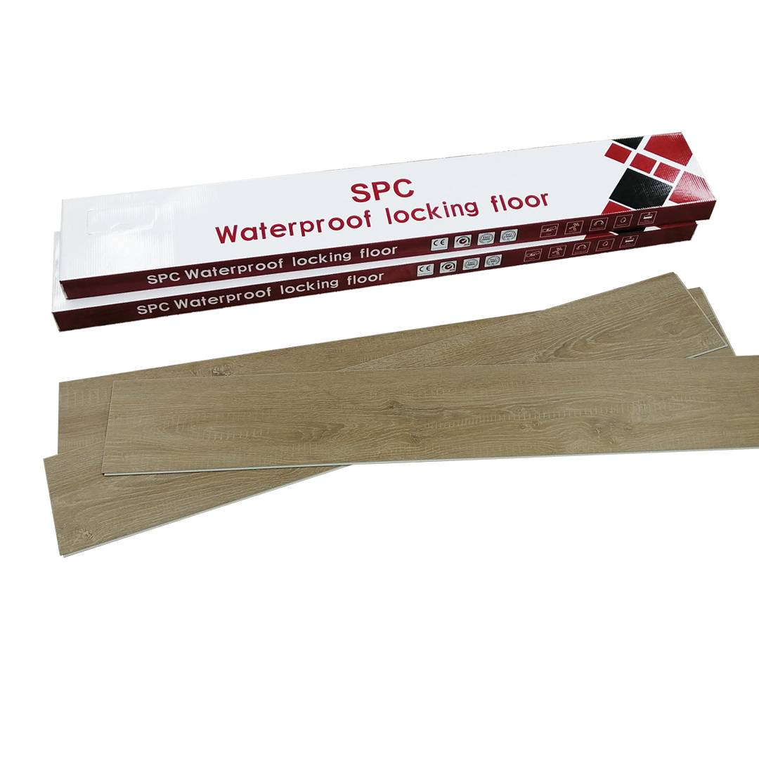 Anti slip Virgin material  uniclick RVP flooring 5.0mm with 0.3mm (12mil) wearlayer