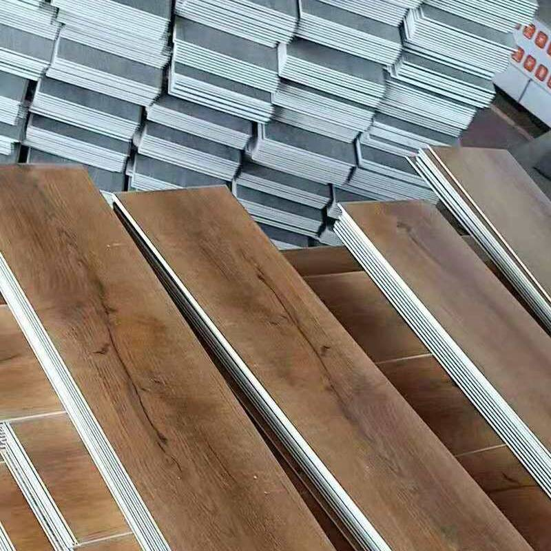 Best quality Spc Tile Flooring - Durable easy installation SPC plain white vinyl flooring for office – Kenuo detail pictures