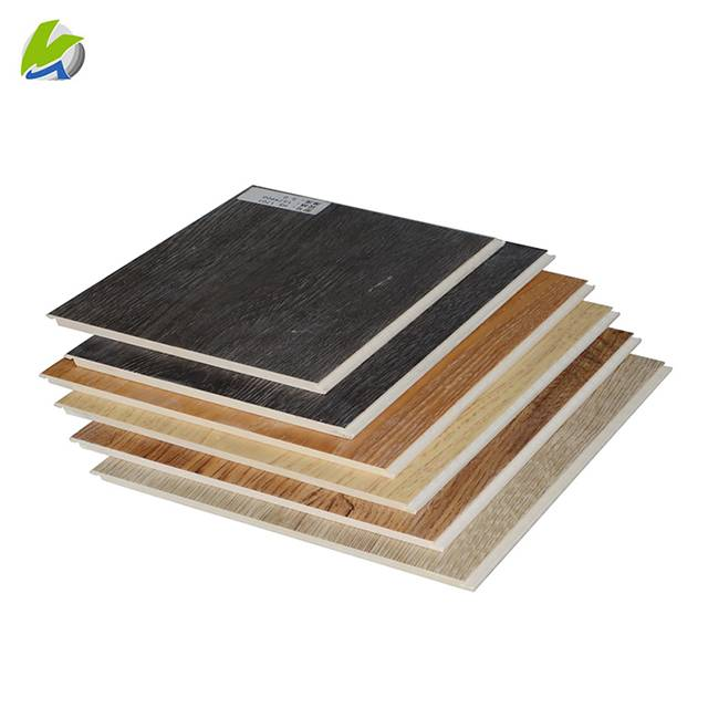 UV protection 4mm waterproof SPC PVC plastic vinyl plank flooring for commercial