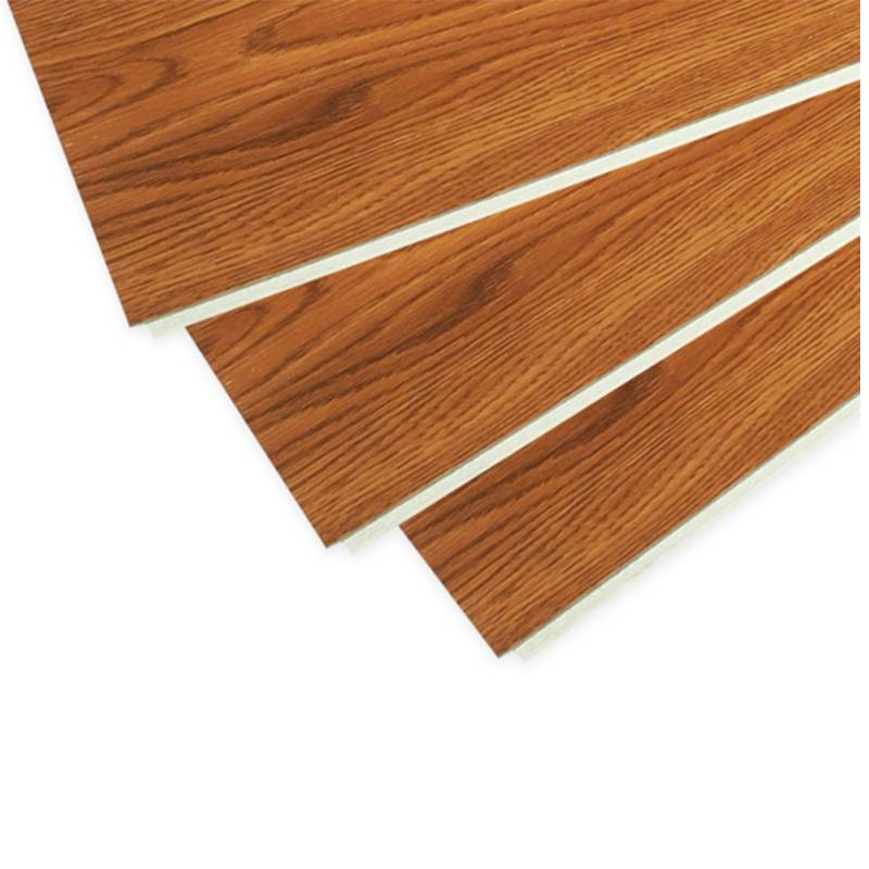 Anti slip thickness 8mm plastic wood plank flooring for household