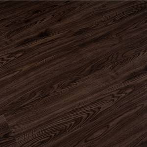 China Gold Supplier for Flexible Vinyl Plank Flooring - Simple color waterproof and fireproof vinyl plank wood pvc spc flooring for bathroom – Kenuo