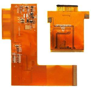 Leading Manufacturer for Thin Flexible PCB - Thin Polyimide bendable FPC with FR4 stiffener – Kangna