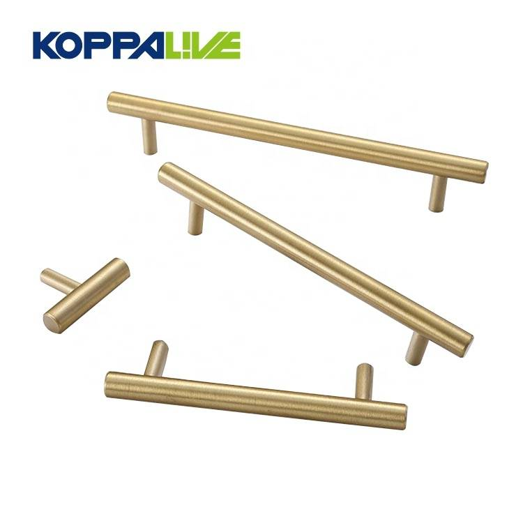 KOPPALIVE Promotion Luxury Modern Design Bedroom Copper Furniture Cabinet Brass Pull Handles Featured Image