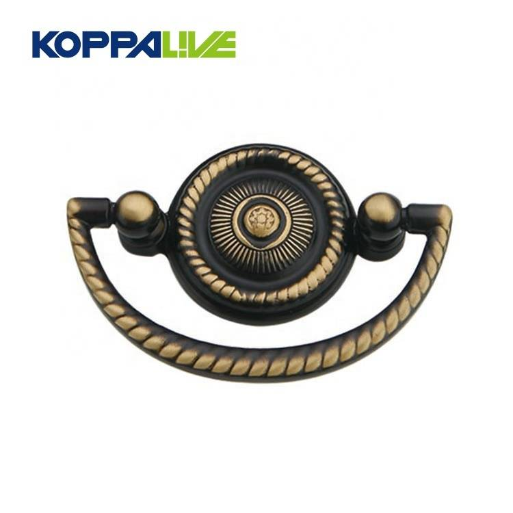 KOPPALIVE Simple modern furniture hardware cabinet pull handle door knocker brass