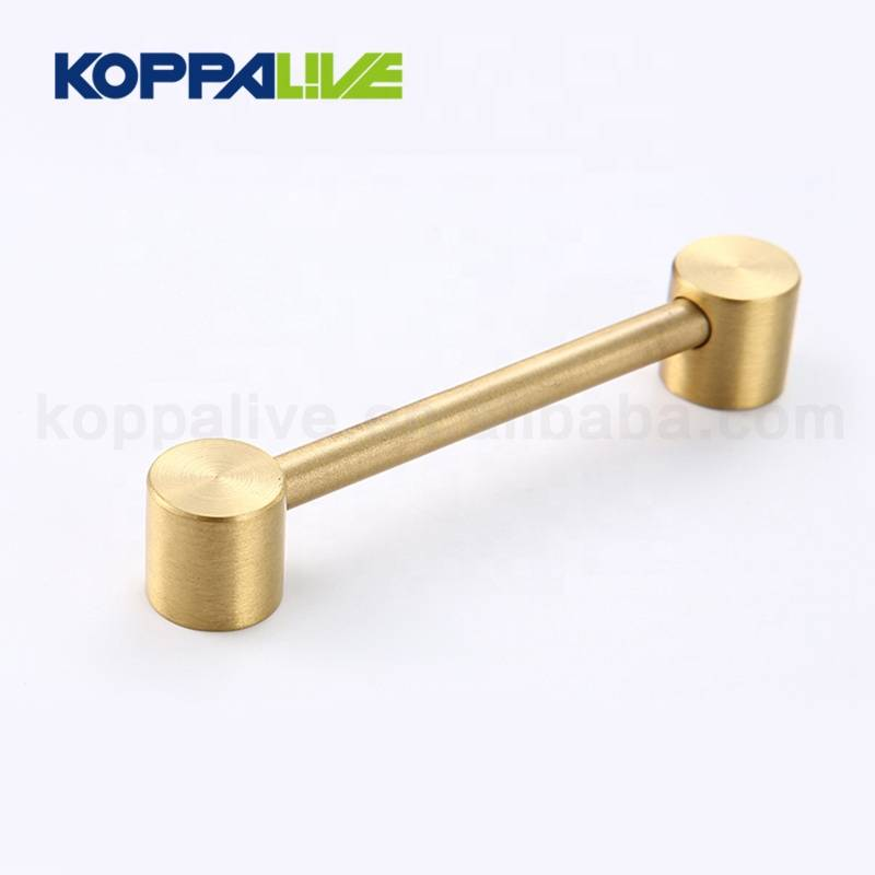 Latest Modern Furniture Hardware Fittings Kitchen Bedroom Copper  Pull Cabinet Handle