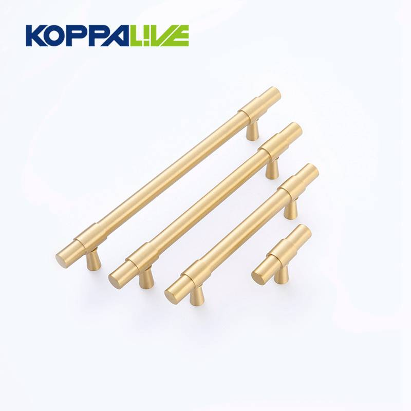 T bar Interior Decoration Hardware Closet Furniture Cabinet Pull Knobs Handles Brass