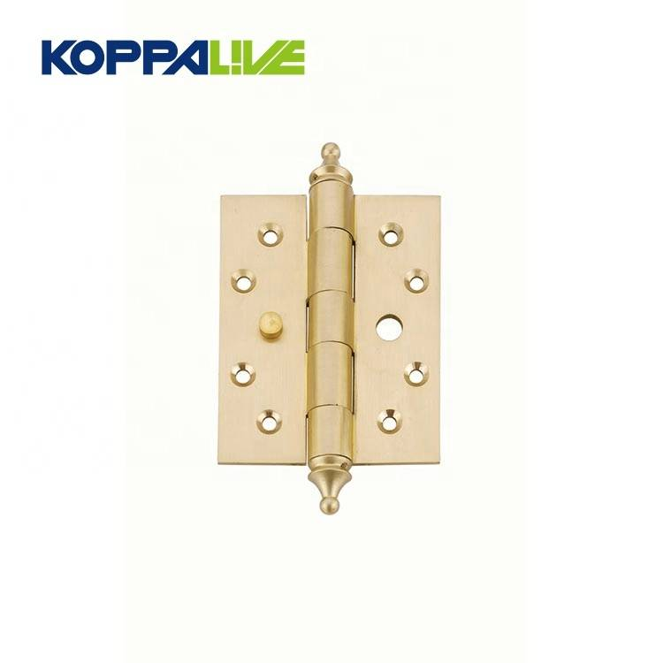KOPPALIVE hardware furniture fold ball bearing brass wood door butt pivot hinges