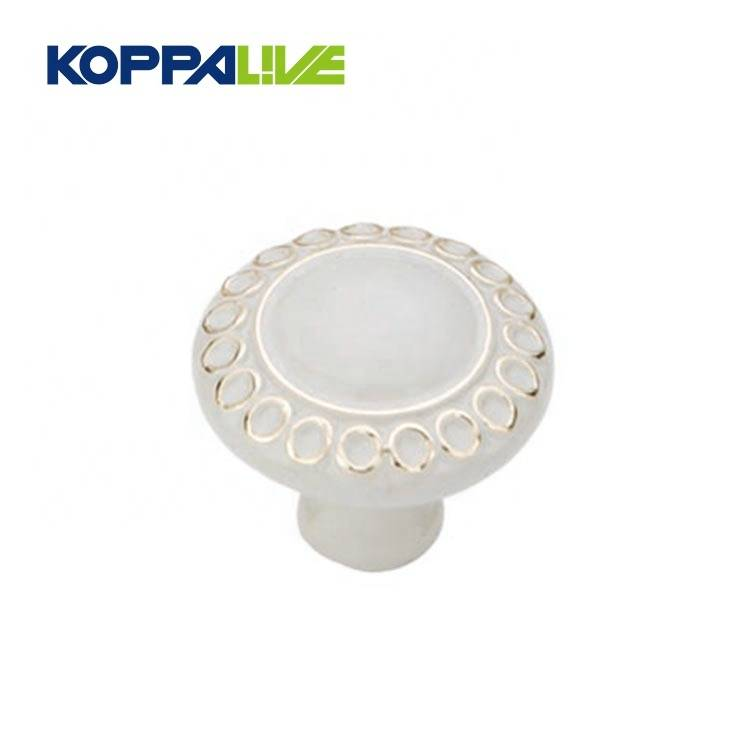 Manufacturer for Kitchen Cabinet Knob - KOPPALIVE Vintage zinc alloy newly design zinc alloy furniture wardrobe cabinet drawer handle round pull knob – Zhangshiwujin