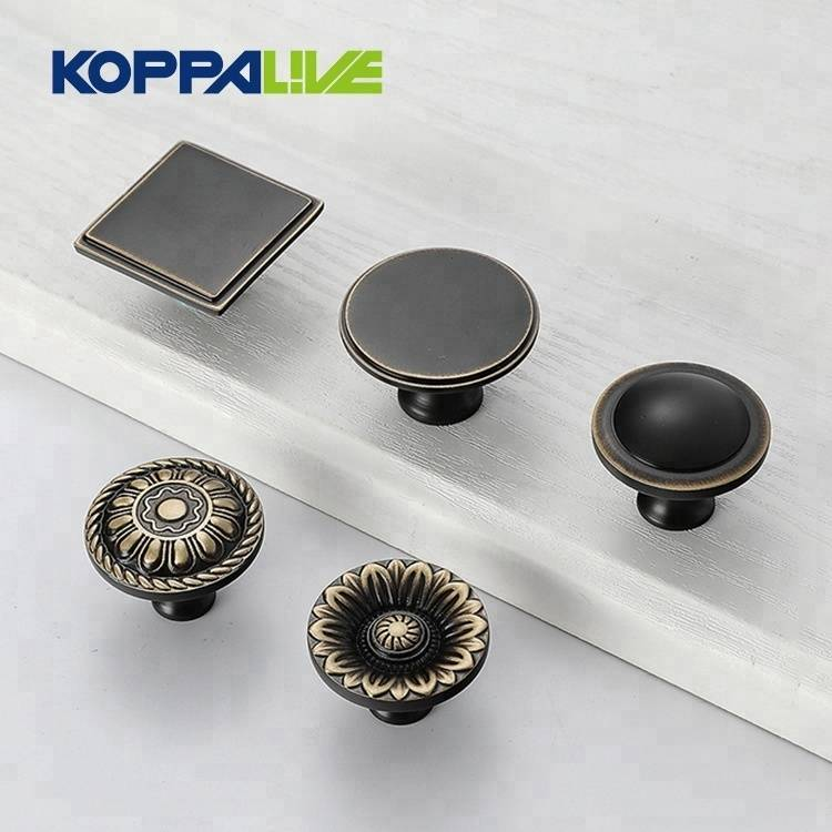Lowest Price for Antique Brass Dresser Knobs - Hot sale brass bedroom hardware furniture kitchen cupboard cabinet drawer knobs – Zhangshiwujin