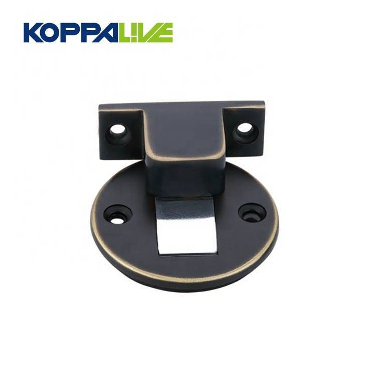 China Cheap price Door Stoppers - KOPPALIVE Competitive Price Furniture Hardware Floor l Magnetic Brass Door Stopper – Zhangshiwujin