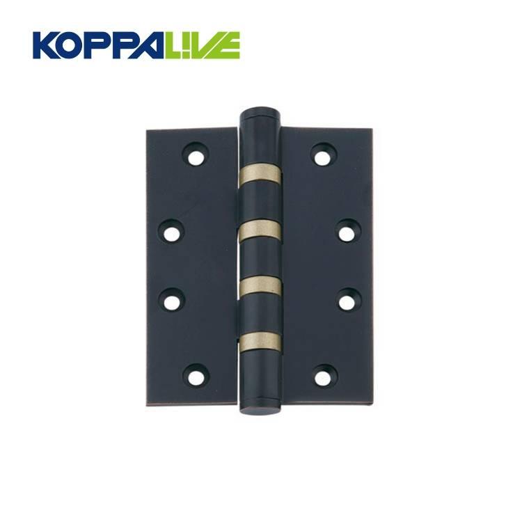 Koppalive furniture hardware wholesale heavy duty folding brass plated two way cabinet wooden door hinge Featured Image