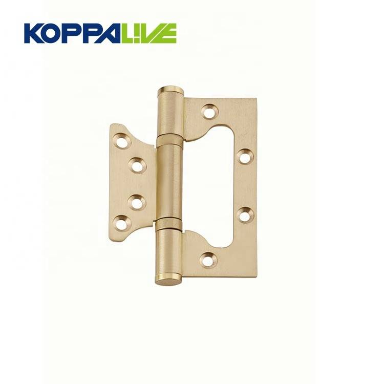 Furniture Hardware Brass Concealed Sub Mother Iron Shower Pivot Door Hinge for wooden door