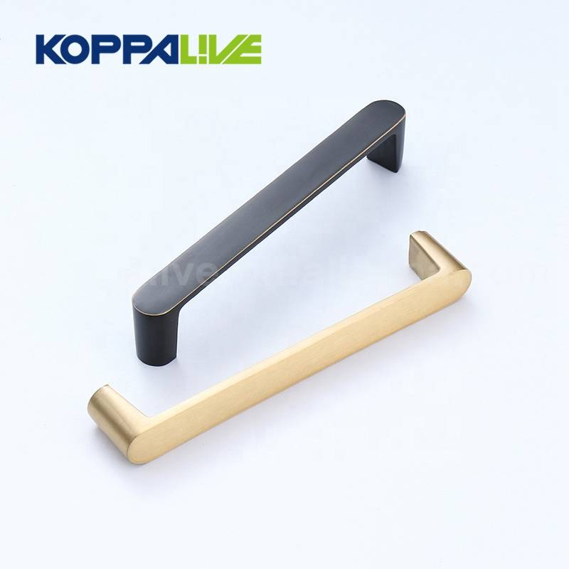 Wholesale Kitchen Cabinet Furniture Accessories Solid Brass Furniture Pulls Handle
