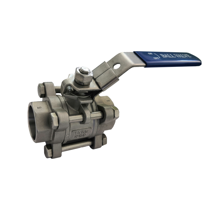 OEM manufacturer Socket Weld Ball Valve Stainless Steel - 3PC Ball Valve with Socket Welding End B303 – Kuntai Featured Image