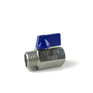 High Quality Mini Ball Valve - MINI Ball Valve M/F B111S – Kuntai