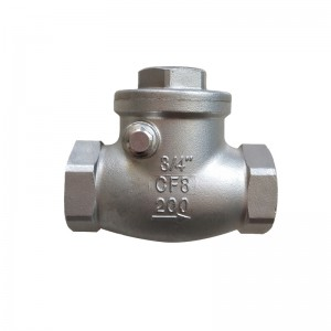 Good User Reputation for Npt Stainless Steel Ball Valve - Swing Check Valve C301 – Kuntai