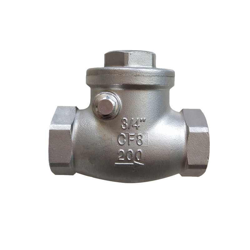 China Cheap price Din Flanged Ball Valve - Swing Check Valve C301 – Kuntai