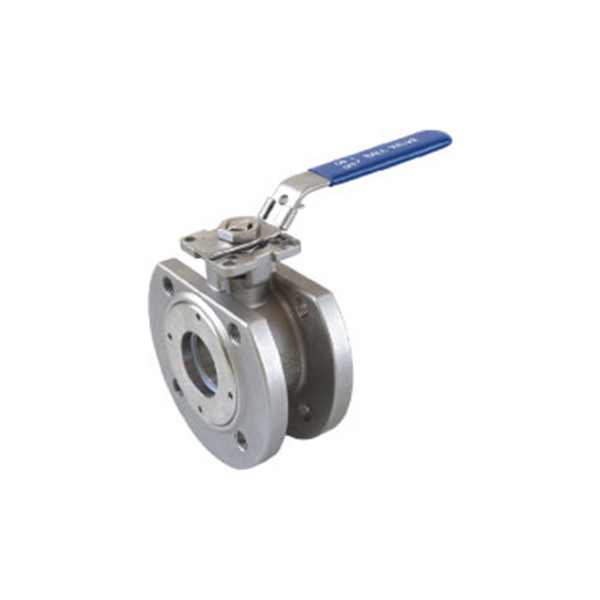 China Cheap price 2pc Ball Valve - 1PC Flanged Ball Valve with ISO 5211 mounting pad B101MD – Kuntai