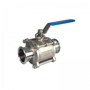 Good Quality Sanitary Butterfly Valves - Sanitary Ball Valves – Kuntai