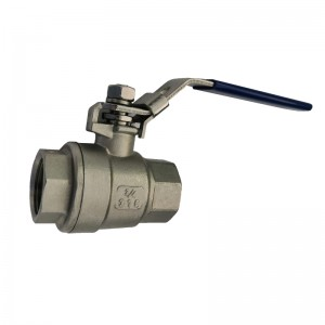 OEM China Ball Valve 2 Piece - 2PC Ball Valve Regular Type B221 – Kuntai